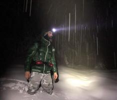 23.02.2018. - Dugmići u snijegu